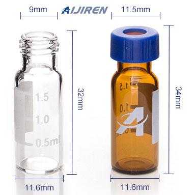 20ml headspace vial9mm Short Thread Glass Vial