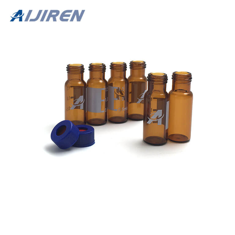 20ml headspace vialAmber Glass Vial with Logo