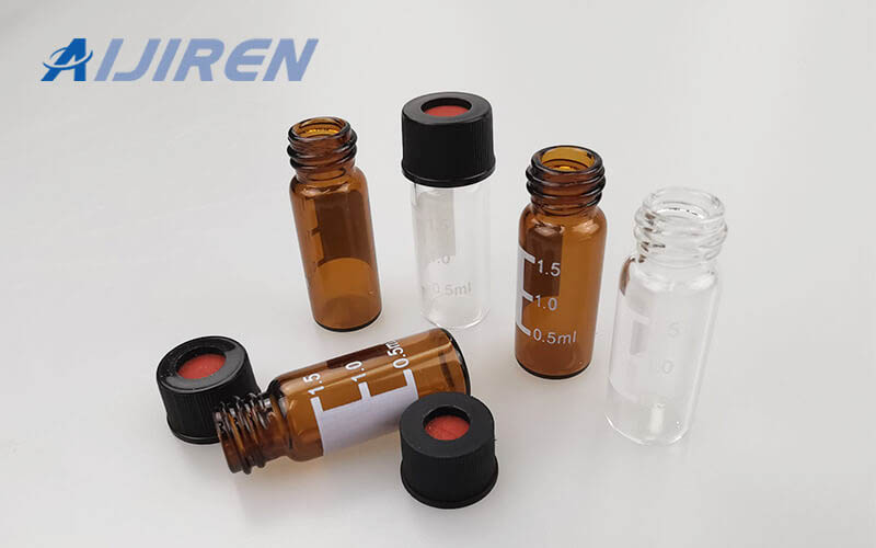 20ml headspace vial10mm Screw Vial with Label Area