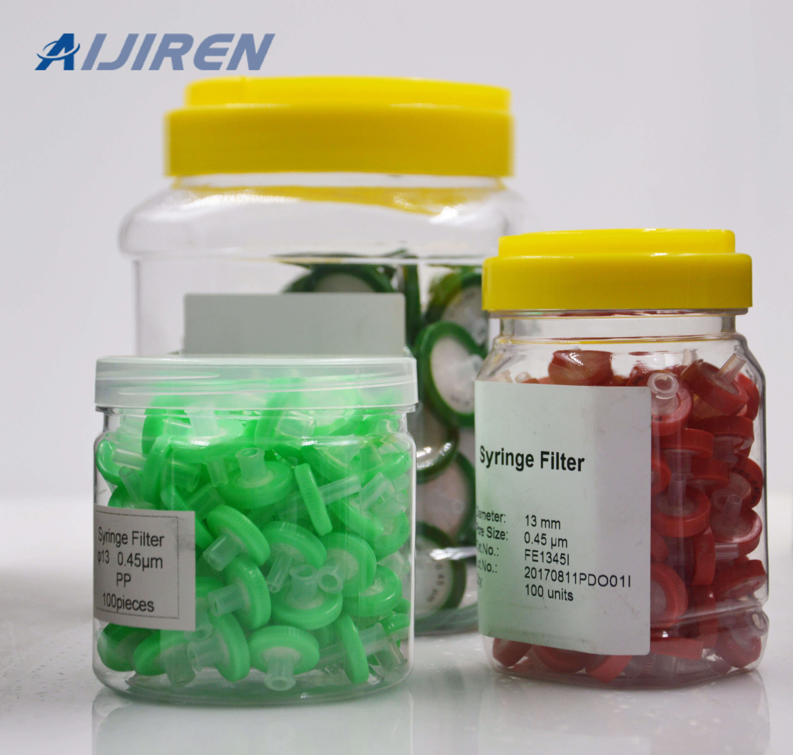 20ml headspace vial13mm 0.45 Syringe Filter