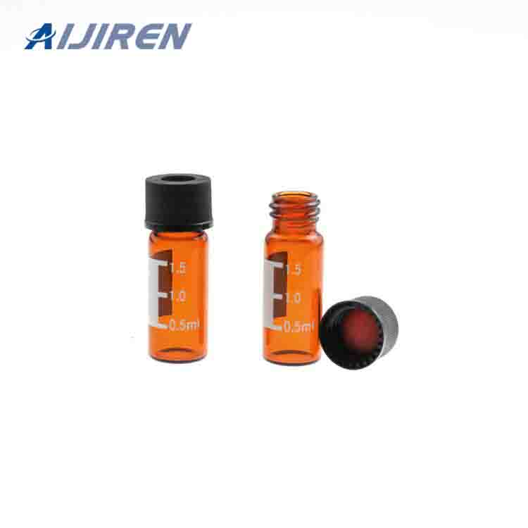 20ml headspace vial8mm Amber Glass Screw Vial