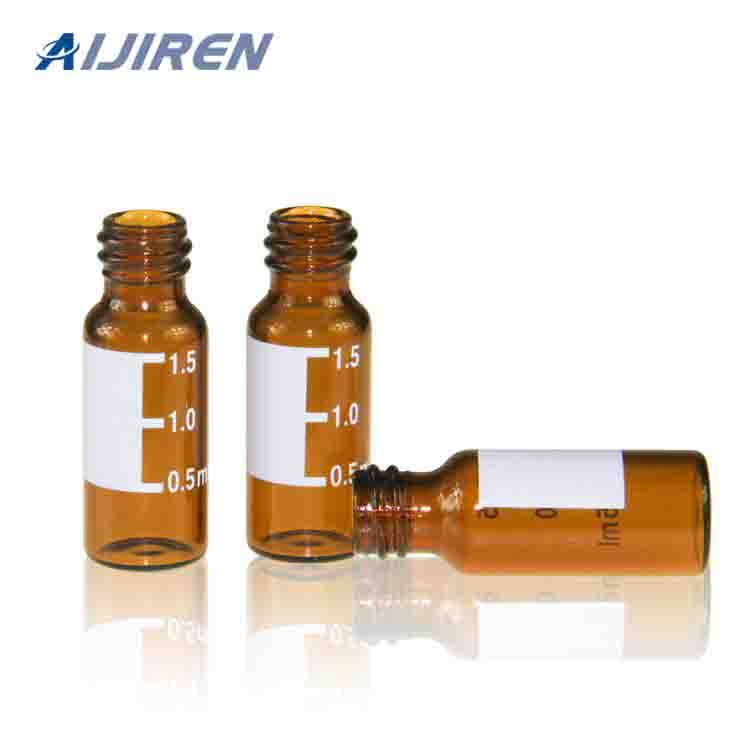 20ml headspace vial10mm Amber Glass Vial with Label Area
