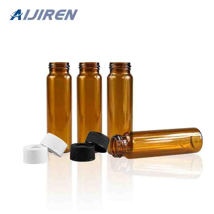 20ml headspace vial24mm Amber Glass Sample Storage Vial