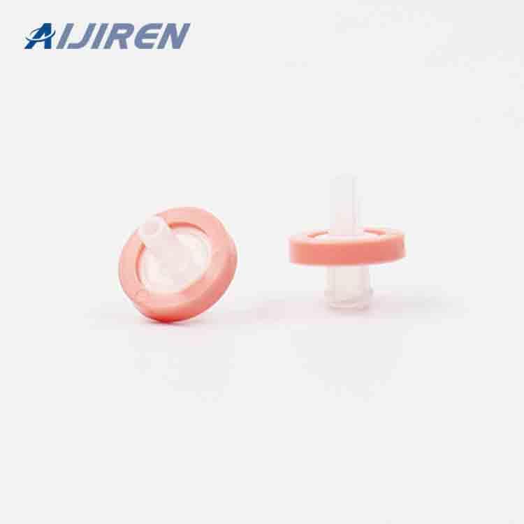 20ml headspace vial13mm Pink Syringe Filter
