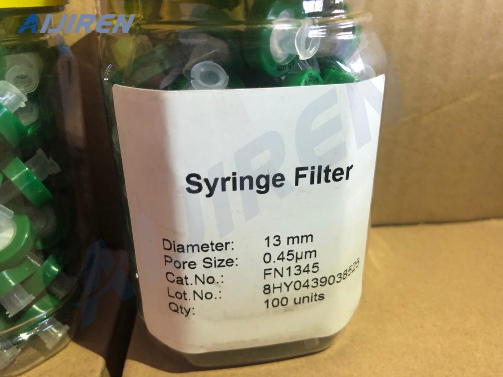 20ml headspace vial0.45 Nylon Syringe Filter