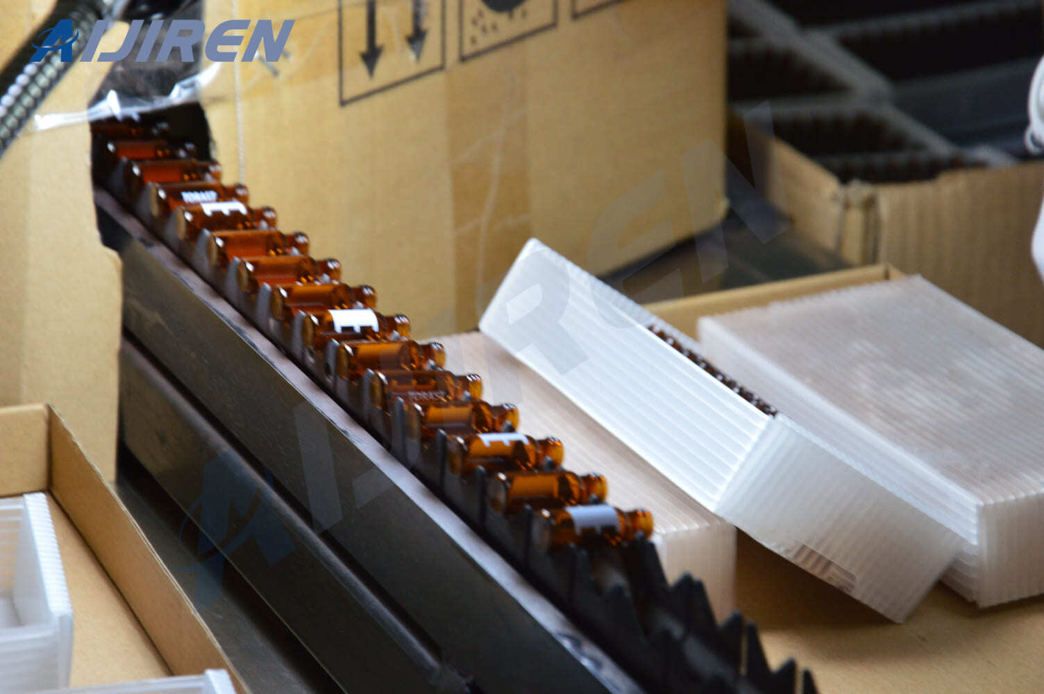 Production Process of 2ml Amber Vial