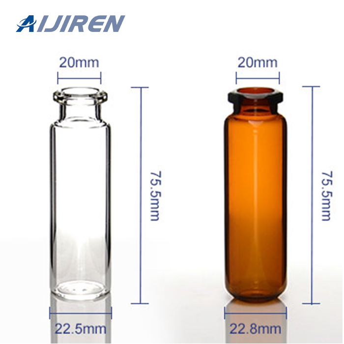 Aijiren Sampler Vial6-20mL 20mm Crimp-Top Vial ND20