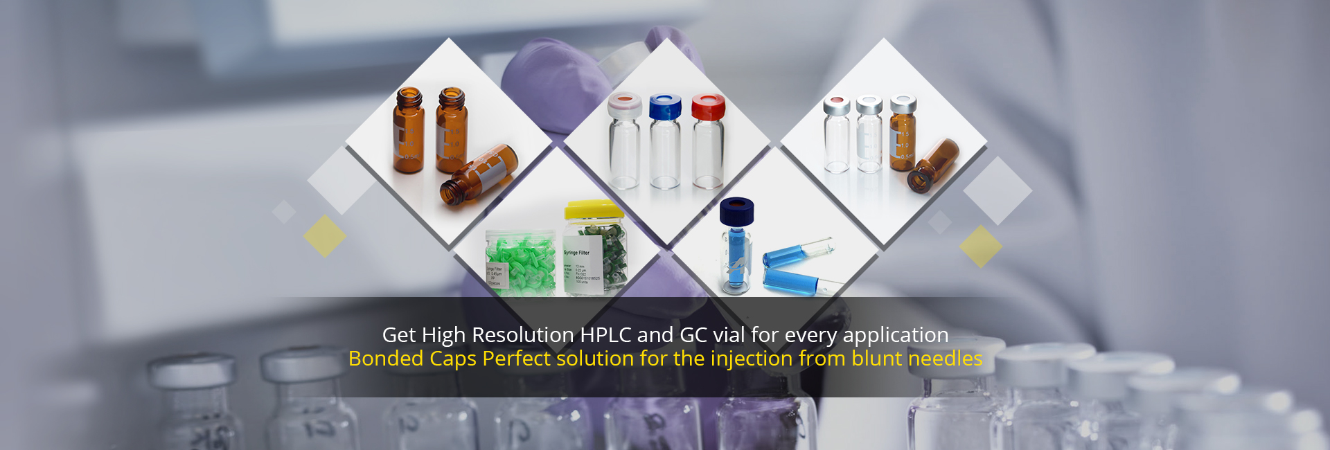 Aijiren Sampler Vials for HPLC