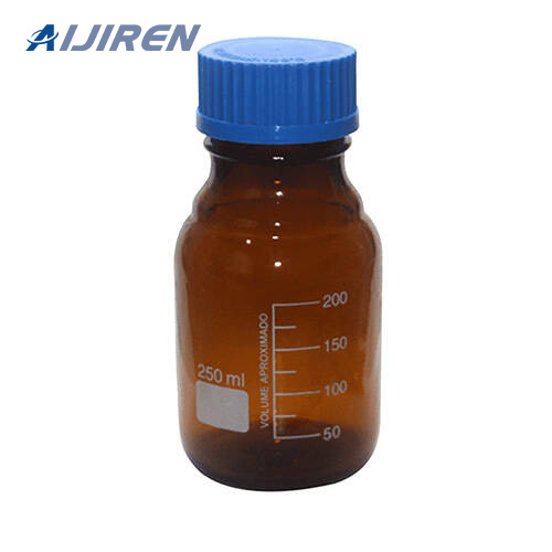 Sampler Vial Amber Glass Reagent Bottle