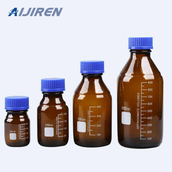 Autosampler Vial Amber Glass Reagent Bottle