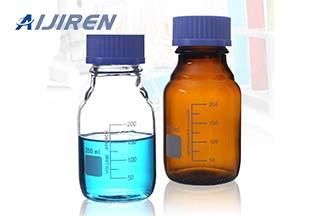 Autosampler Vial Screw Thread Glass Bottle as Filter Bottle