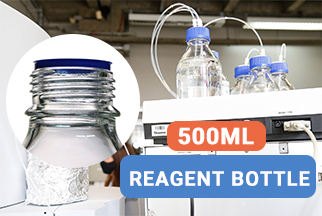 Sampler Vial with capGL45 500ML Wide Mouth Reagent Bottle