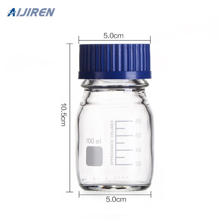 Sampler Vial Wholesale 100ml Clear Reagent Bottle