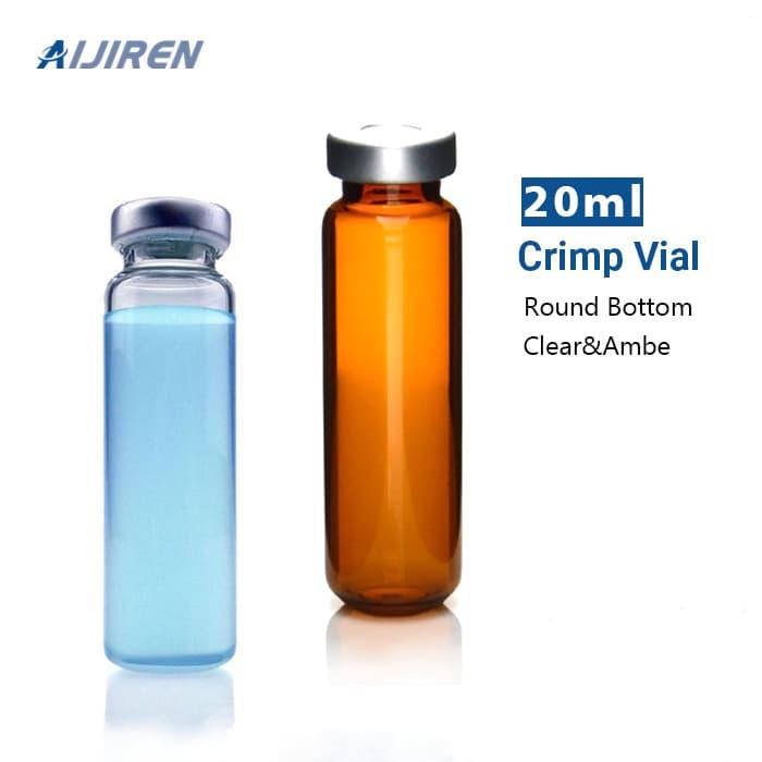 Sampler Vial 20ml Clear 20mm Crimp Neck GC Vials