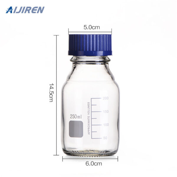 Autosampler Vial Wholesale 250ml Clear Reagent Bottle
