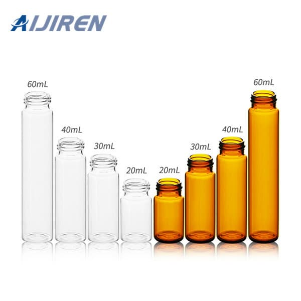 HPLC Sampler Vial 24-400 20ml Sample Storage Vial